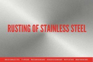 STAINLESS STEEL RUSTING